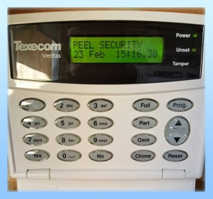 Peel Security Alarm Panel