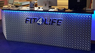 LED lighting for cool Fit4Life